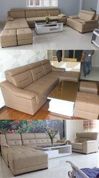 bộ ghế sofa gia đình cao cấp