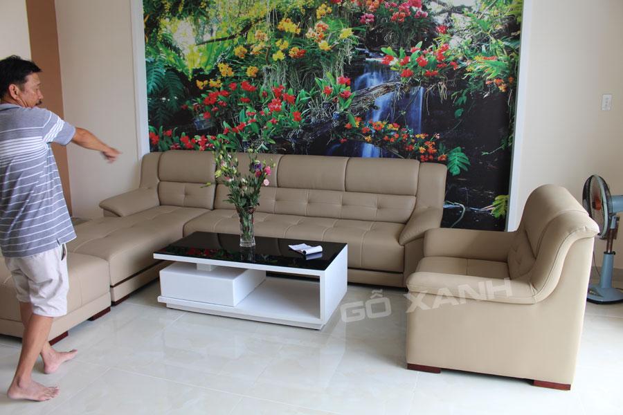 Bộ ghế sofa gia đình cao cấp - Đẹp - Chất lượng hoàn hảo