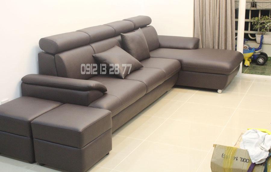 Bộ ghế sofa cao cấp / Mua sofa được tặng 4 gối ôm đẹp 1