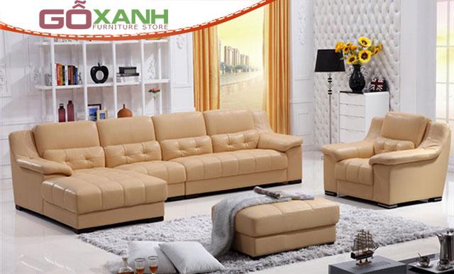 Kích thước bộ ghế sofa hình chữ L tuyệt đẹp