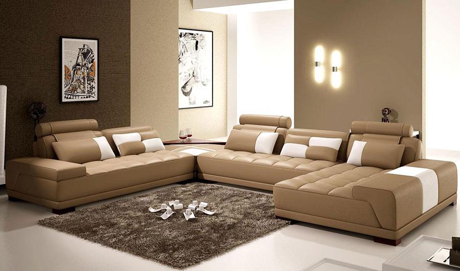 Ghế sofa kích thước lớn cho phòng khách rộng