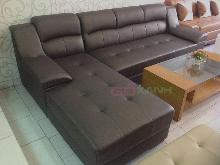 Hình ảnh thực tế ghế sofa phòng khách chụp tại nhà khách hàng 5