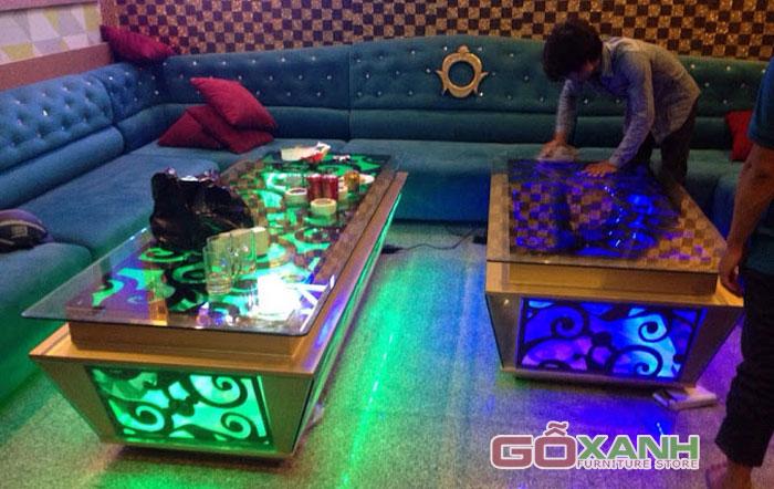 Bộ sưu tập những mẫu bàn karaoke đẹp xuất sắc