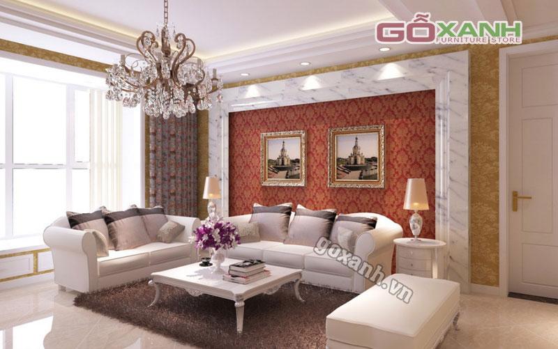 Cách chọn sofa tân cổ điển cho căn hộ nhỏ, nhà nhỏ
