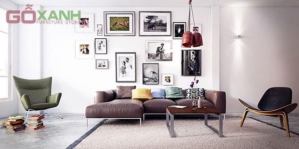 Cách trang trí nội thất cho ngôi nhà màu trắng tinh khôi