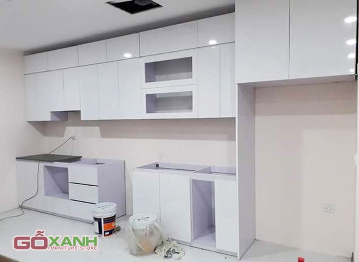 [Công Trình] Sản xuất nội thất gỗ công nghiệp cho căn hộ chung cư