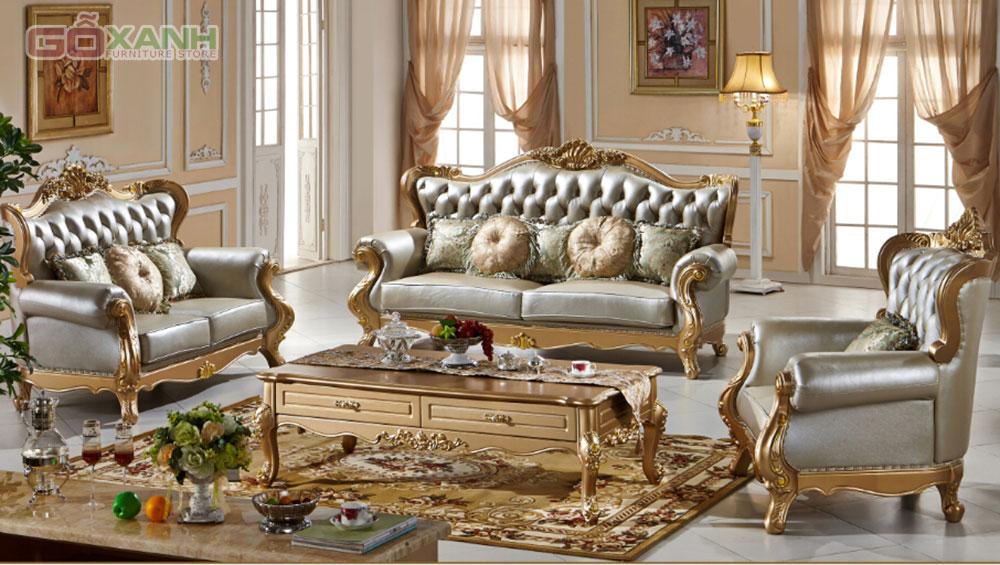 Ghế Sofa cổ điển là món nội thất trang trí kỳ diệu cho không gian sống của bạn