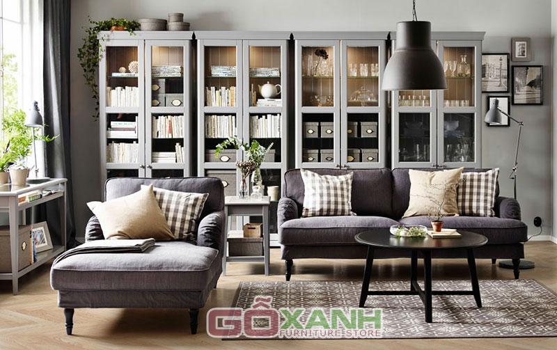 Ghế sofa thư giãn cho phòng khách sinh động hơn