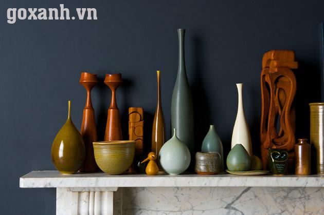 Làm thế nào để trang trí nhà với đồ gốm sứ truyền thống