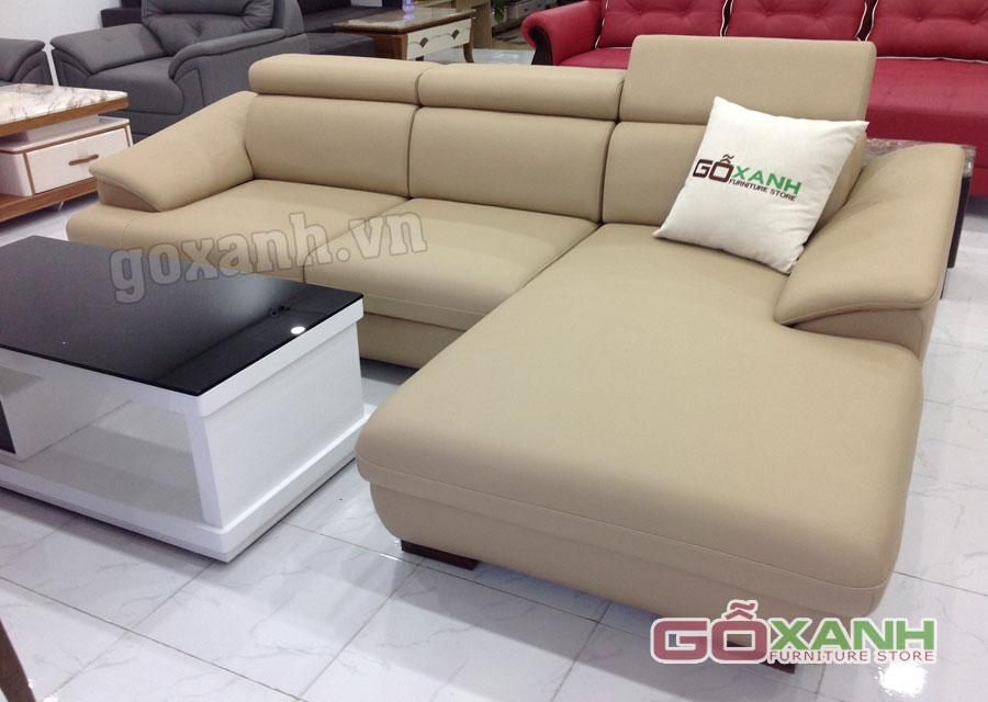 Những mẫu ghế sofa đầu bật nằm hiện đại