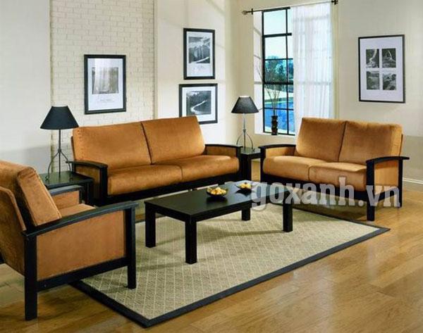 Những mẫu ghế sofa gỗ hiện đại cho phòng khách sang trọng