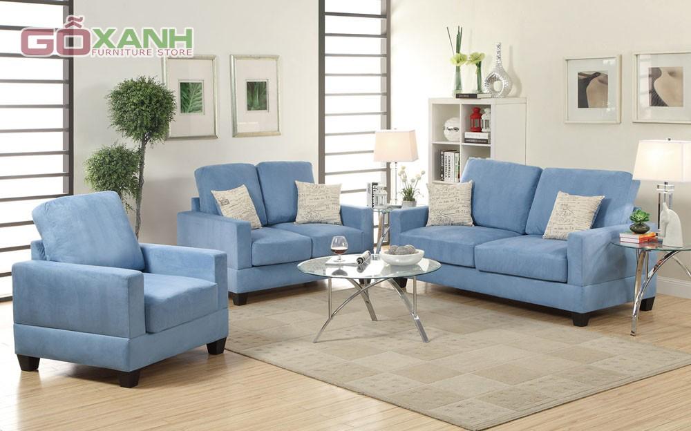 Sofa vải - Sự lựa chọn hàng đầu của các hộ gia đình