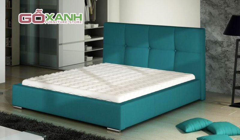 Tân trang phòng ngủ mới toanh với mẫu giường ngủ bọc nệm hiện đại