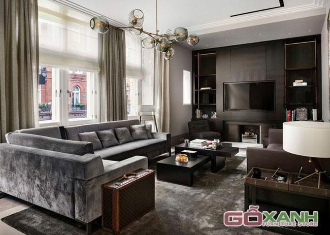 Thay đổi không gian sống với bộ ghế sofa bọc vải nhung gợi cảm