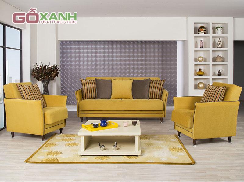 Trang trí nhà đẹp: Chọn nội thất màu vàng sống động từng không gian